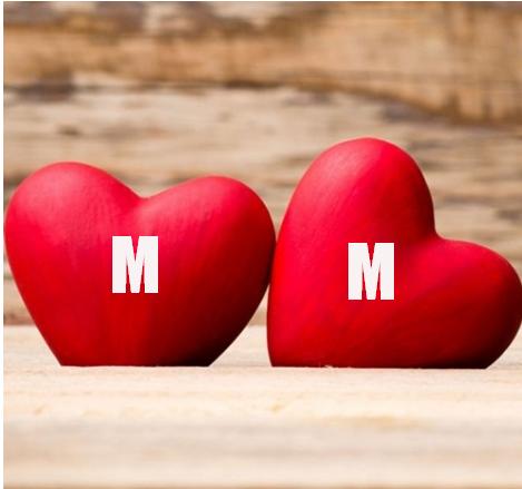 اجدد صور حرف M M مع بعض صور حرف M و حرف M فى قلب صور حرف االام وحرف الام بالانجليزى صقور الإبدآع