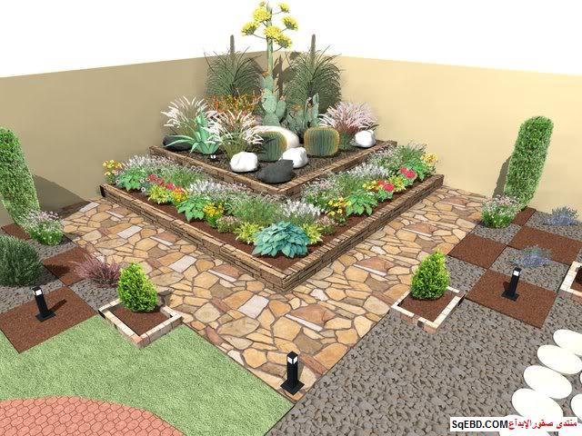 جلسات خارجية للحدائق, احواض زراعه و ديكورات حجرية لحديقة منزلك, do.php?img=7623