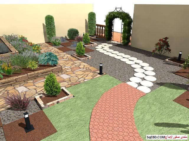 جلسات خارجية للحدائق, احواض زراعه و ديكورات حجرية لحديقة منزلك, do.php?img=7624