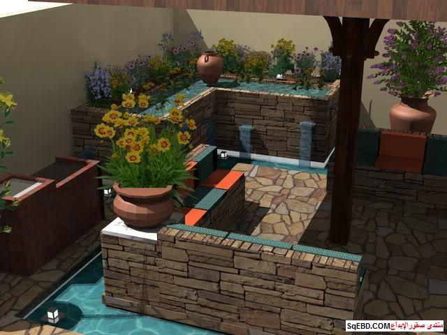 جلسات خارجية للحدائق, احواض زراعه و ديكورات حجرية لحديقة منزلك, do.php?img=7625