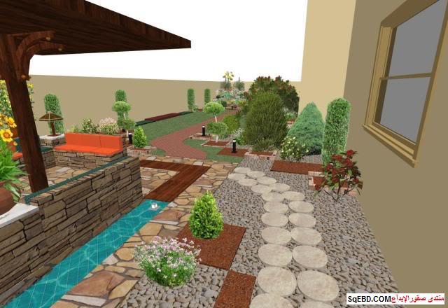 جلسات خارجية للحدائق, احواض زراعه و ديكورات حجرية لحديقة منزلك, do.php?img=7626