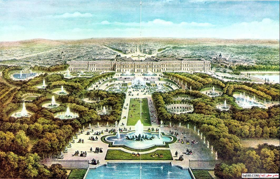 قصر فرساي في باريس, حديقة قصر فرساي, قصر فرساي الفرنسي, do.php?img=7727