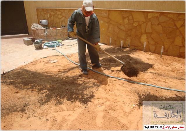 حدائق منزلية بسيطة , احواض زراعية منزلية , تبليط الحوش do.php?img=7788