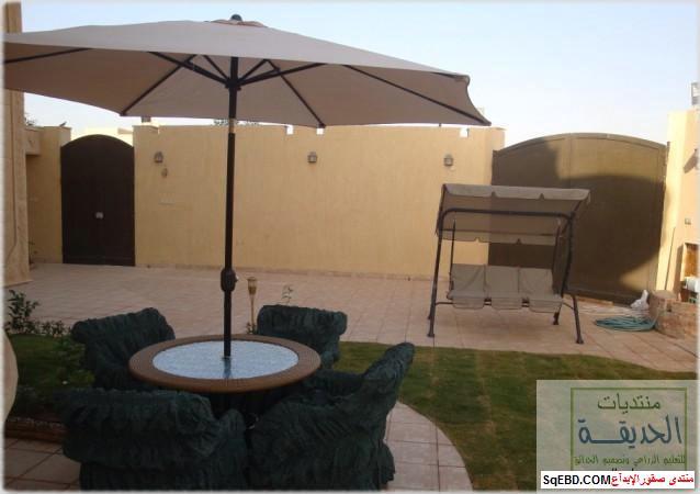 حدائق منزلية بسيطة , احواض زراعية منزلية , تبليط الحوش do.php?img=7816
