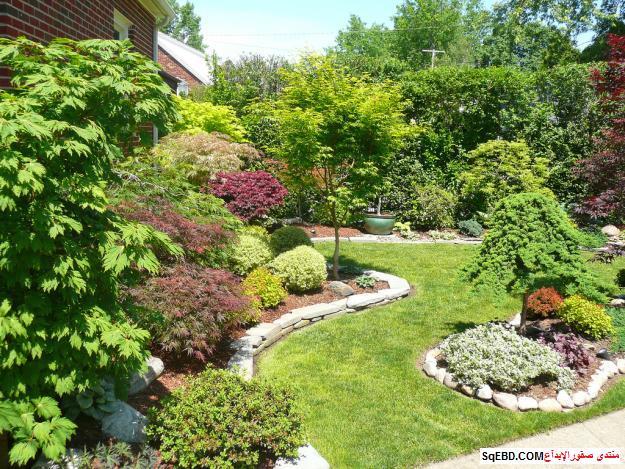 Charming Japanese Rock Garden Design