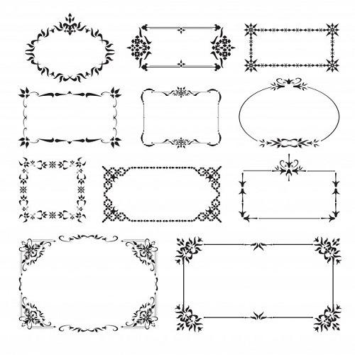 أطارات وبراويز 2020 أطارات للتصميم رائعة جدا تحميل ملف كبير يحتوي على اطارات للتصميم صقور الإبدآع