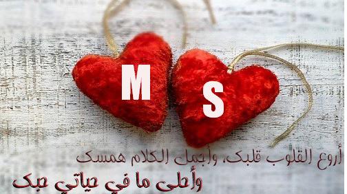 صور حرف M و S مع بعض رمزيات فخمة لحرف M و S بطاقات مصورة لحرف الام وحرف الاس صقور الإبدآع