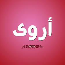 صور اسم اروى مزخرف انجليزى معنى اسم دلع صفات Arwa و شعر و غلاف و